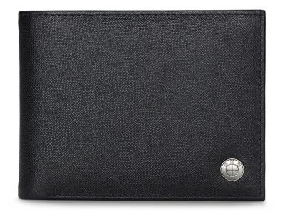 Мужской кошелек BMW Basic Men's Slim Wallet, Black