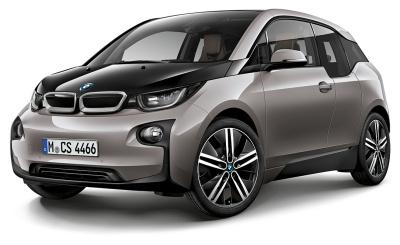 Модель автомобиля BMW i3 (i01), 1:43 scale, Andesite Silver