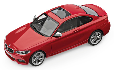 Модель автомобиля BMW 2 серии Купе (F22), 1:43 scale, Melbourne Red