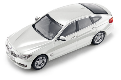 Модель автомобиля BMW 3 серии GT (F34), 1:43 scale, Alpine White
