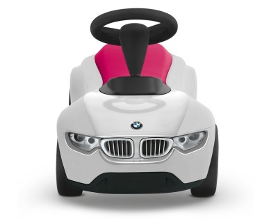 Детский автомобиль BMW Baby Racer III, White-Raspberry Red