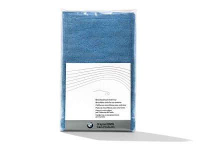 Салфетка из микроволокна для кузова BMW Genuine Car Care Universal Exterior - Interior Cleaning Soft Microfibre Cloth