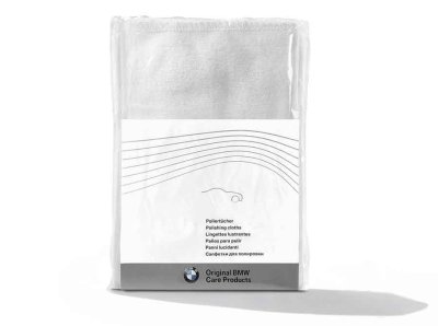Салфетки для полировки BMW Genuine Car Care Paint Polis Valeting Cotton Cloths Pack of 3