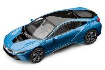 Модель автомобиля BMW i8 (i12), 1:43 scale, Protonic Blue