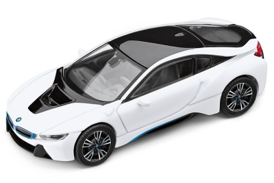 Модель автомобиля BMW i8 (i12), 1:43 scale, Crystal White