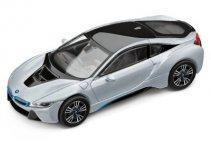 Модель автомобиля BMW i8 (i12), 1:43 scale, Ionic Silver