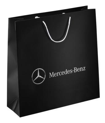 Средний подарочный пакет Mercedes Paper Bag, Medium Size 2017