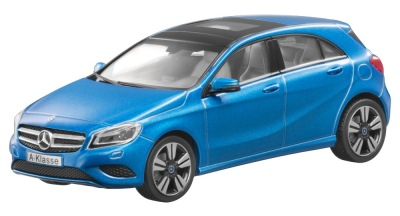 Модель Mercedes-Benz A-Class Sout Sea Blue, 1:43 Scale