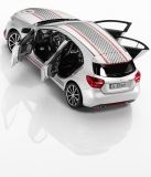 Модель Mercedes-Benz A-Class Sport Equipment Road and Track, Scale 1:43, артикул B66960334