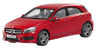 Модель Mercedes-Benz A-Class AMG 2012, Jupiter Red, Scale 1:18
