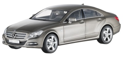Модель Mercedes-Benz CLS-Class Saloon C218, Designo Mountain Grey Magno, 1:18 Scale