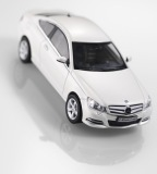 Модель Mercedes-Benz C-Class Coupe C204, Diamond White Bright, 1:43 Scale, артикул B66960081