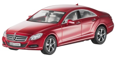 Модель Mercedes-Benz CLS-Class Saloon C218, Designo Zircon Red, 1:43 Scale