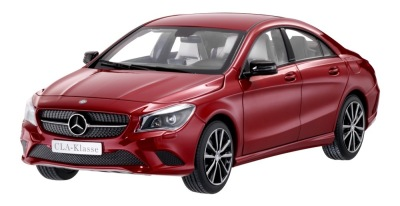 Модель Mercedes-Benz CLA-Class Designo Patagonia Red Bright, 1:18 Scale