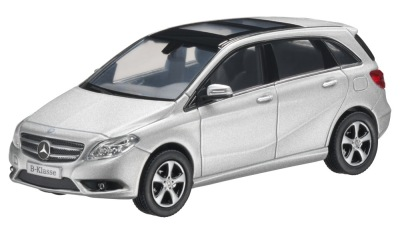 Модель Mercedes-Benz B-Class Polar Silver, 1:43 Scale