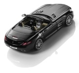 Модель Mercedes-Benz SLS AMG Roadster R197, Obsidian Black, 1:43 Scale, артикул B66960035