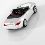 Модель Mercedes-Benz SL-Class R231, Designo Diamond White Bright, 1:43 Scale, артикул B66960104