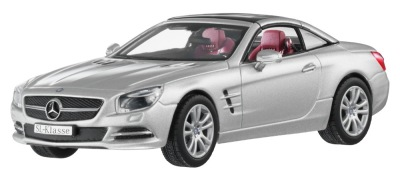 Модель Mercedes-Benz SL-Class R231, Iridium Silver, 1:43 Scale