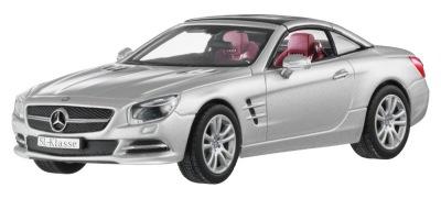 Модель Mercedes-Benz SL-Class R231, Iridium Silver, 1:43 Scale