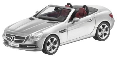 Модель Mercedes-Benz SLK-Class R172, Iridium Silver, 1:43 Scale