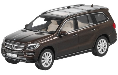 Модель Mercedes-Benz GL-Class X166, Citrine Brown, 1:43 Scale