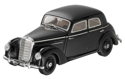 Модель Mercedes-Benz 220 W 187 (1951–1954), Black, 1:43 Scale