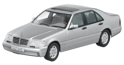 Модель Mercedes-Benz S320 W 140 (1994–1998), Silver, 1:43 Scale