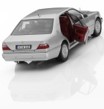 Модель Mercedes-Benz S 320 W 140 (1994–1998), Brilliant Silver, 1:18 Scale, артикул B66040605