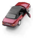 Модель Mercedes-Benz 300 CE-24 Cabriolet A124 (1992–1993), Almandine Red Metallic, 1:18 Scale, артикул B66040616