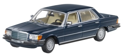 Модель Mercedes-Benz 280 SEL – 450 SEL 6.9 Model Series 116 (1972–1980), Nautical Blue, 1:43 Scale