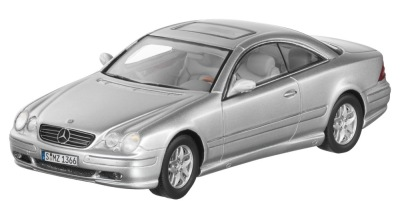 Модель Mercedes-Benz CL500, C215 (1999–2002), Nayarit Silver, 1:43 Scale