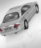Модель Mercedes-Benz CL500, C215 (1999–2002), Nayarit Silver, 1:43 Scale, артикул B66040496