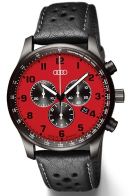 Хронограф Audi Chronograph, red 2014