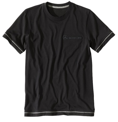 Футболка Mercedes men's basic t-shirt black