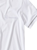 Футболка Mercedes men's basic t-shirt white, артикул B66953540