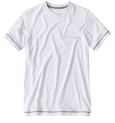Футболка Mercedes men's basic t-shirt white