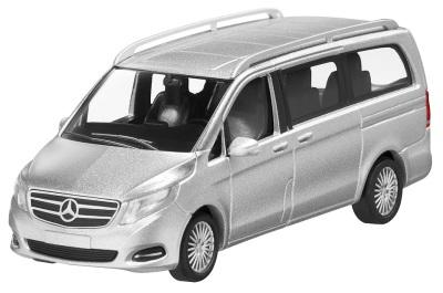 Модель автомобиля Mercedes V-Class Silver 1/87