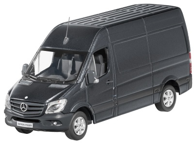 Модель автомобиля Mercedes Sprinter, Kastenwagen Grey 1/43