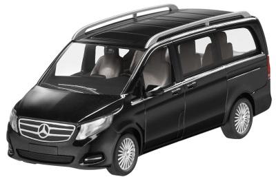Модель автомобиля Mercedes V-Class Black 1/87