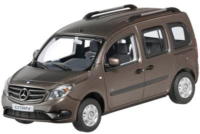 Модель автомобиля Mercedes Citan, Kombi Brown 1/43