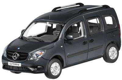 Модель автомобиля Mercedes Citan, Kombi Grey 1/43