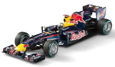 Модель болида Infiniti Red Bull Sebastian Vettel RB6 World Champion Edition 1:43