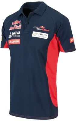 Мужская рубашка-поло Scuderia Toro Rosso Official Teamline Polo