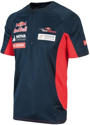 Мужская футболка Scuderia Toro Rosso Official Teamline Functional T-Shirt