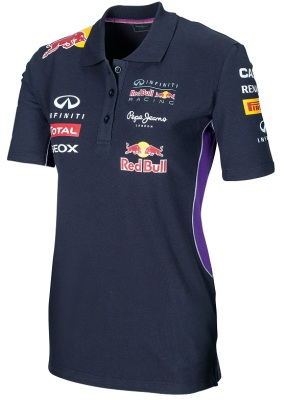 Женская рубашка-поло Infiniti Red Bull Official Teamline Polo