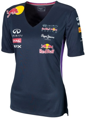 Женская футболка Infiniti Red Bull Official Teamline Functional T-Shirt
