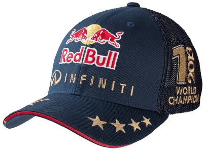 Бейсболка Infiniti Red Bull Sebastian Vettel World Champion Cap