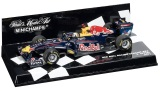 Модель болида Infiniti Red Bull Minichamps Sebastion Vettel RB7 1:43, артикул M-106748