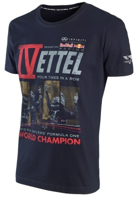 Детская футболка Infiniti Red Bull Sebastian Vettel World Champion T-Shirt