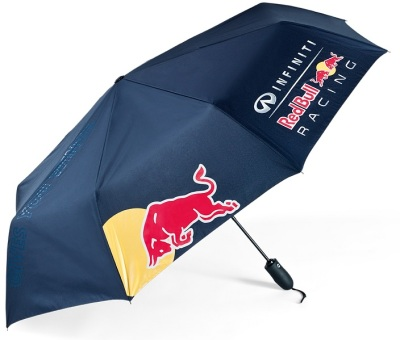 Зонт Infiniti Red Bull Logo Telescopic Umbrella